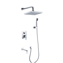 3 Function Outlet Water Concealed Shower Mixer