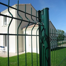 Welded Wire Mesh Metal PanelsTriangle Bending Fence