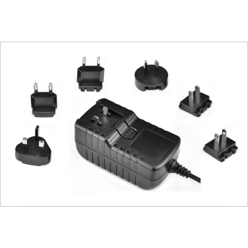 15V 3A Detachable AC Plug Power Adapter