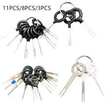 3/8/11PCS Car Terminal Removal Tool Kit Harness Wiring Crimp Connector Extractor Puller Release Pin Professional Repair Tools