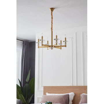 New Modern Decoration Minimalist Iron Chandelier