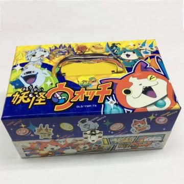 Paper handle cartoon stationery set storage box