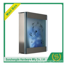 SMB-071SS Promotional Price Modern Stainless Steel Waterproof Mailbox Usa