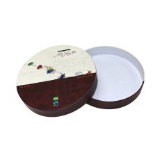 Custom Design Round Box Paper Gift With Lid