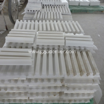 White Marble Border Stone for Projects