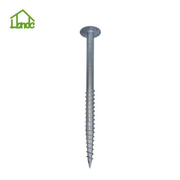Solar pole anchor ground anchor