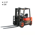 2.5 Ton Diesel Forklift (5-meter Lifting Height)