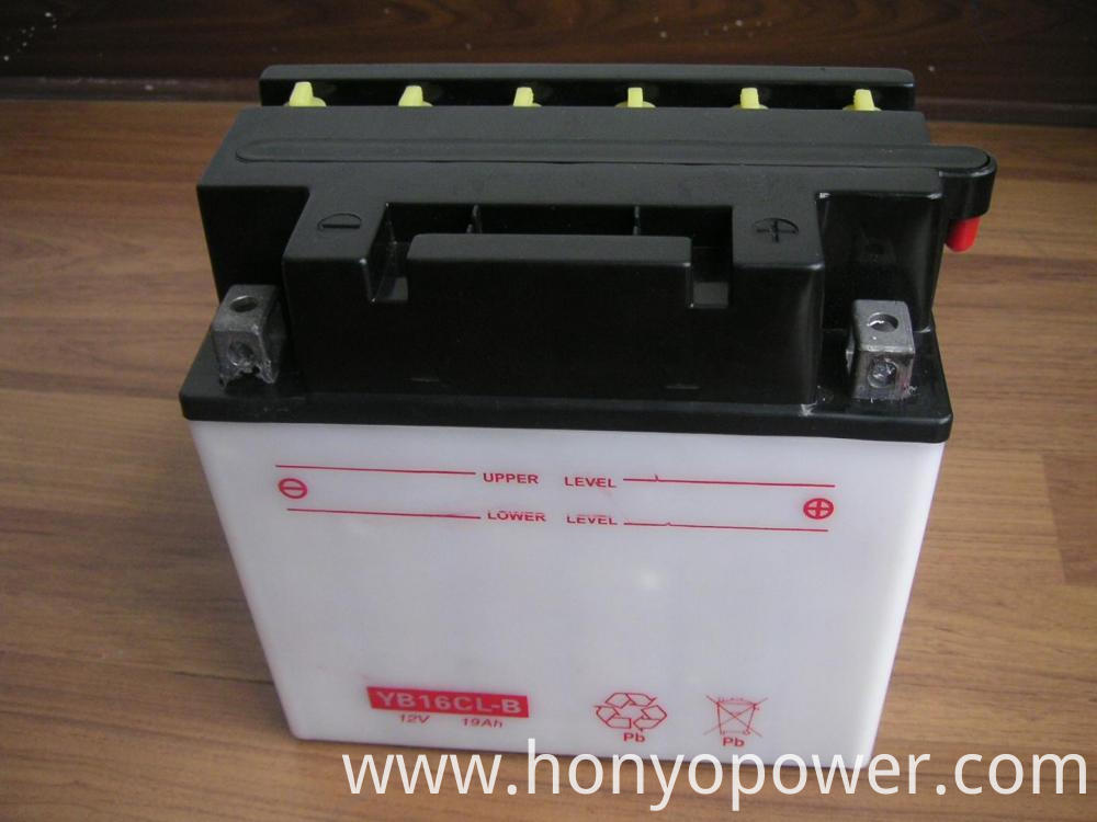 Dry Charged Motorcycle Batteries