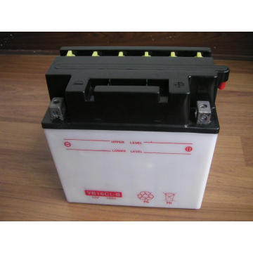 YB16Cl-B OEM Dry Charged Motorcycle Batteries 12V 19Ah