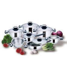 Kitchenware 12piece Stainless Steel Cookware Set