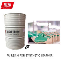 Pu resins for hard grade bags leather