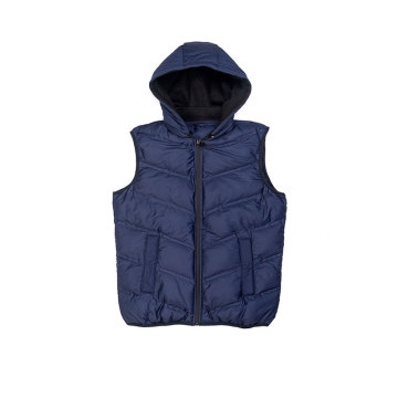 Men`s seamless padding vest Fall Winter