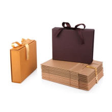 Matte Laminated Euro Tote Novel Paper Gift Boxes