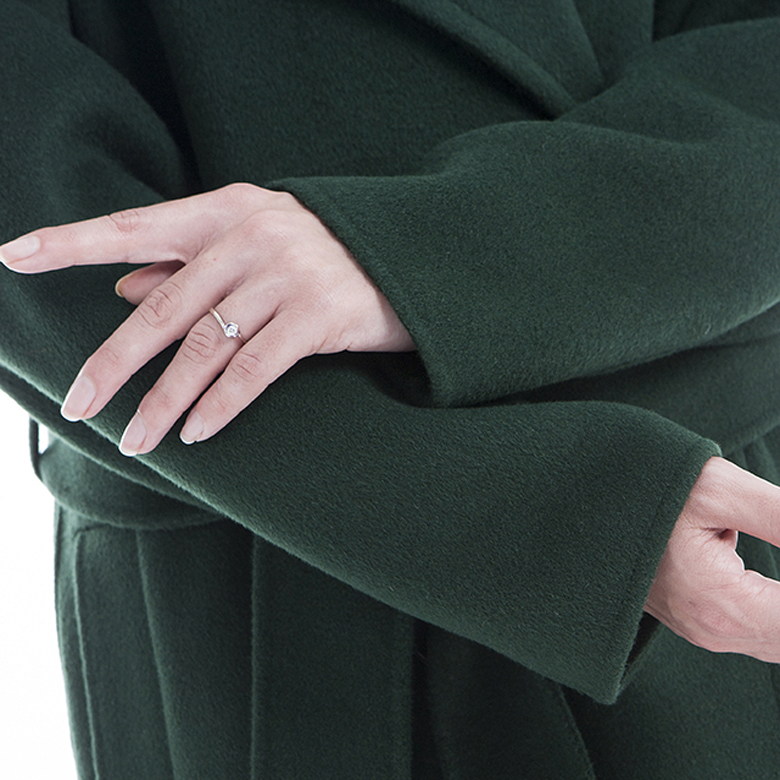 Green 100% Pure Cashmere Winter