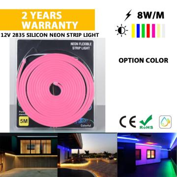 High quality LED Neon strip light pink