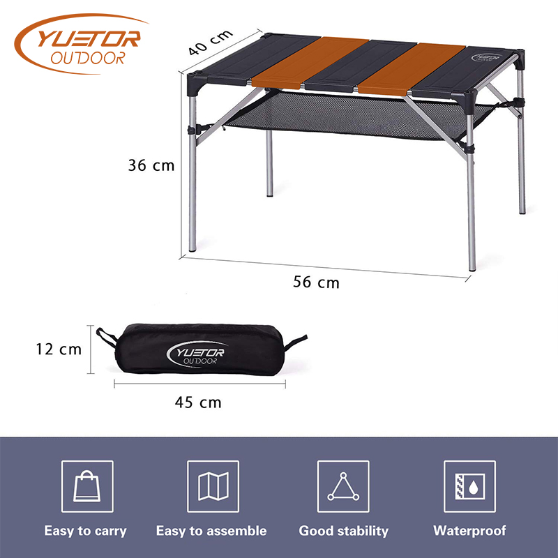 Outdoor Aluminum Folding Table for Picnic Climbing (3)