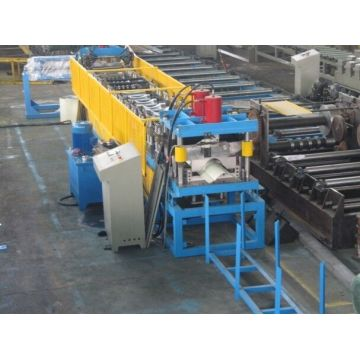 Aluminium Metal Roof Ridge Cap Roll Forming Machine