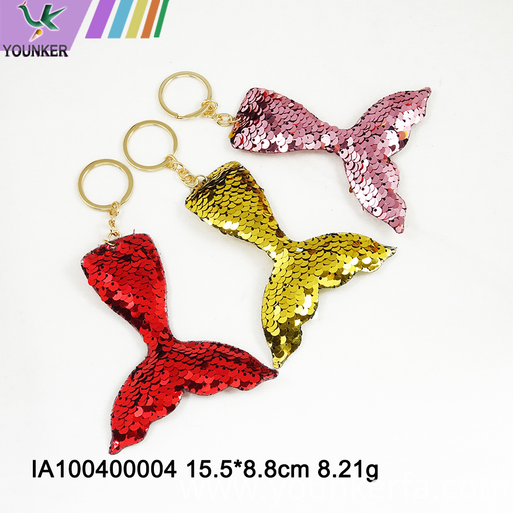 Fish Tail Key Chain