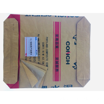 3+1 waterproof paper-plastic valve port cement bag OEM