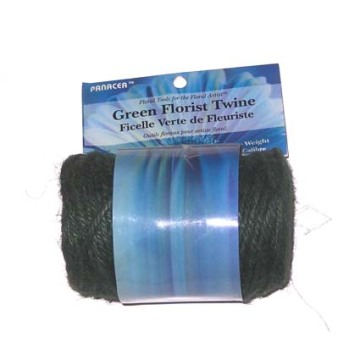 Florist Jute Twine Natural Green 200ft