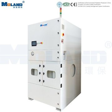 High Airflow Industrial Dust Collection System