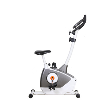 Upright magnetic resistance manual pedal fitness bike