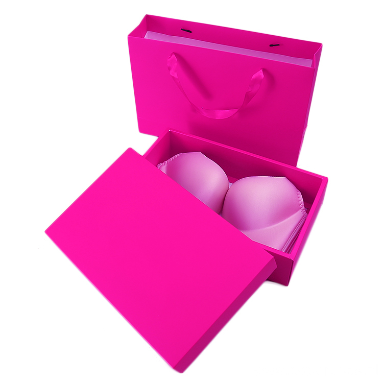 Customized Foldable Underwear Packaging Sleeve Box and Bag