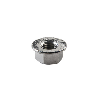 Stainless Steel Flanged Nut connecting nut
