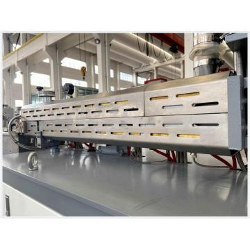 PA Glass Fiber Pellets Extruder Twin Screw Compounding Extrusion Line