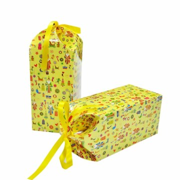 Christmas Party Children Gift Packaging Box For Candy/Cookie