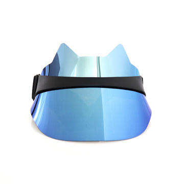 Blue laser visor uv protection visor hat