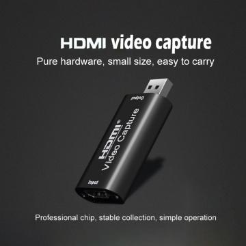 Mini USB 2.0 HDMI-compatible Video Capture Card Grabber Record Box FOR PS4 Game DVD HD Camera Recording Live Streaming