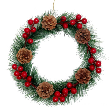 Party Event Decoration Pine Cone Wreath