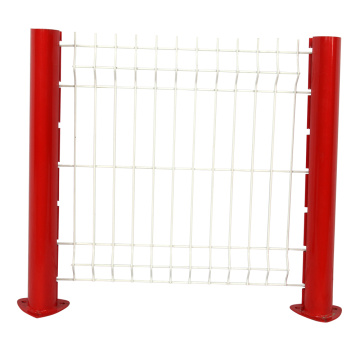 PVC coated 3D curved panel triangle bending fence