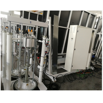 Double glazed processing machine