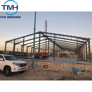 prefabricated metal steel structure warehouse material