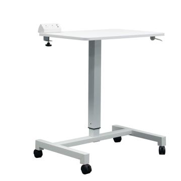 Movable Stand Up Height Adjustable Home Pneumatic Desk