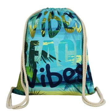 LIGHT BLUE DRAWSTRING BAG-0