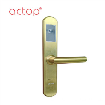 Door locks with handle