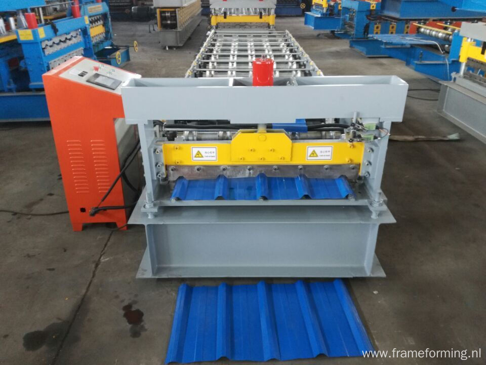 color steel roof machine roll forming