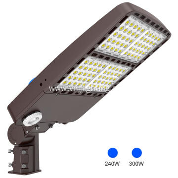 300w stackable shoe box led lights