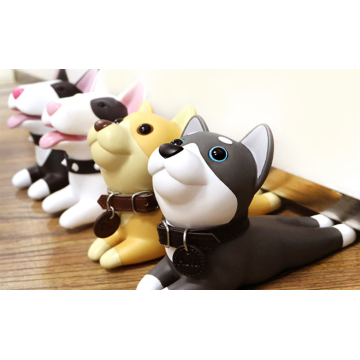 Custom Cute Dog Decorative Rubber Door Stopper