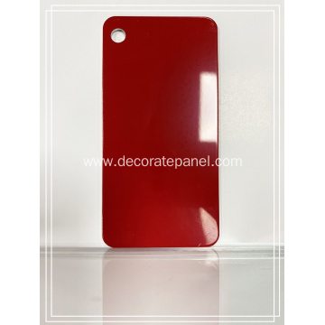 Gloss Plum Red Aluminium Sheets For Sale