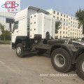 Used CNG HOWO tractor truck for sale