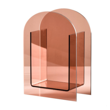 Decorative Acrylic Vase Pink