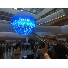 8m P7.62 LED Ball Screen