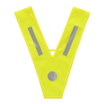 100% polyester Children's safety vest with V shape