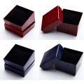 Wholesale Cotton Pad Textured Paper Watch Box