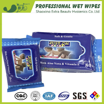 Single Push Clean Baby Wet Wipes