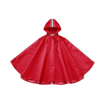 Wholesale Breathable Red Kids Rain Poncho